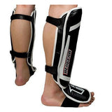 Revgear Professional Leather MMA Shin Guards