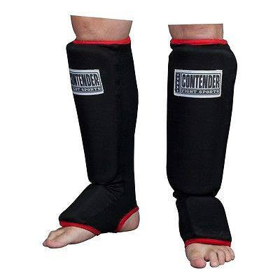 Contender MMA Slip On Shin Guards Insteps - Sedroc Sports