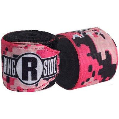 Ringside Boxing Apex Mexican Handwraps - Pink Camo