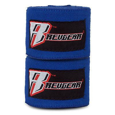 "Revgear MMA Mexican Style Handwraps Boxing Hand Wraps 180"" - Blue - Sedroc Sports"