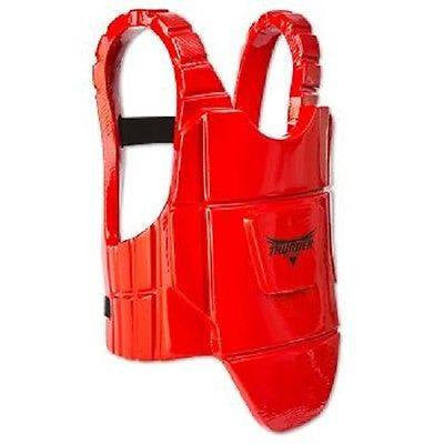 ProForce Thunder Karate Chest Guard Taekwondo TKD Body Protector - Red - Sedroc Sports