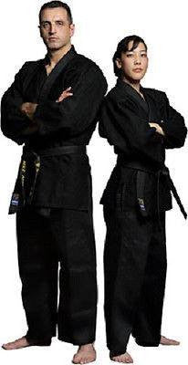 Black Kimono Jiu Jitsu Judo Uniform Gi Youth & Adult Student Sizes - Sedroc Sports