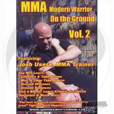 MMA Modern Warrior Ground Game Training DVD Submissions Strikes Armbars Chokes