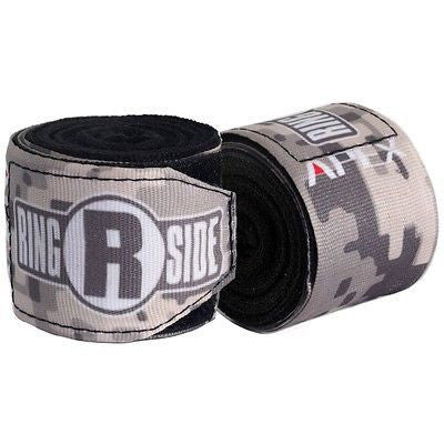 Ringside Boxing Apex Mexican Handwraps - Black / White / Camo