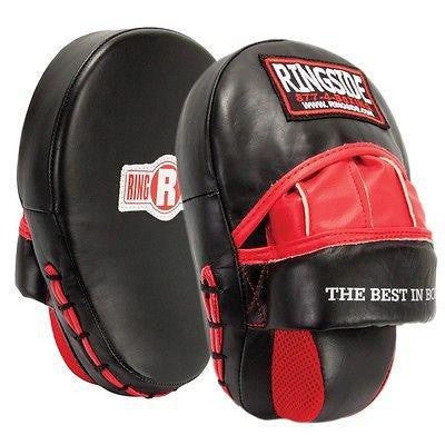 Ringside Boxing Panther Punch Mitts Long Wedge Pads MMA Kickboxing Muay Thai - Sedroc Sports