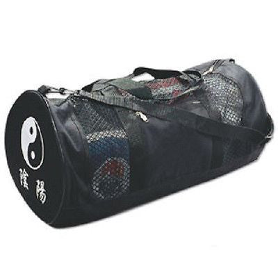 Mesh Yin Yang Duffel Bag Martial Arts Equipment Gear - Sedroc Sports
