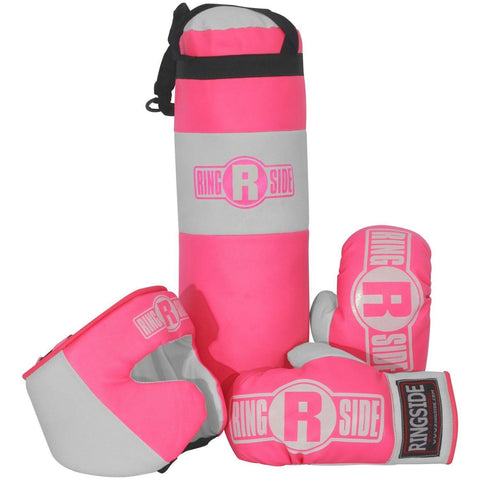 Ringside Kids Boxing Set - Pink - Sedroc Sports