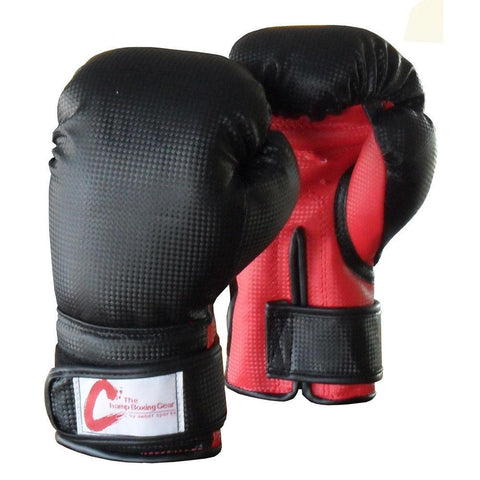Champ Kids Boxing Bag Gloves, Black, 4 Ounce - Sedroc Sports