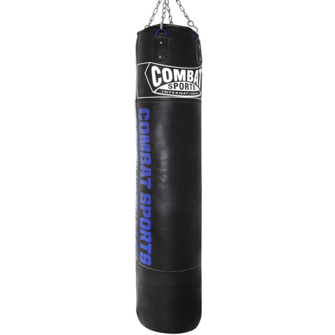 Combat Sports 100 lb. Leather Muay Thai Heavy Bag - Filled - Sedroc Sports