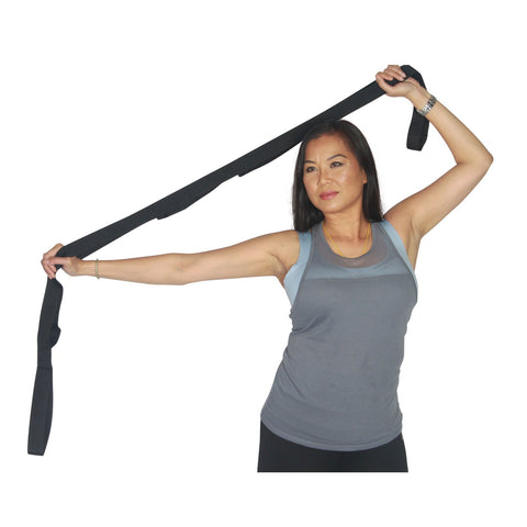 Fitness Stretch Out Strap for Stretching Arms Shoulders Thighs Leg Stretcher - Sedroc Sports