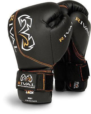 Rival Ultra Bag Gloves Boxing MMA Kickboxing  10 12 14 oz - Sedroc Sports