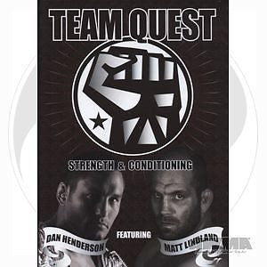 Team Quest Strength & Conditioning MMA Training DVD - Sedroc Sports