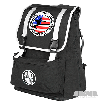Karate Expandable Backpack NKF Martial Arts Equipment Gym Bag - Sedroc Sports