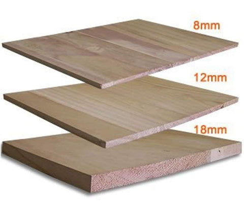 Martial Arts Training Wood Breaking Breakable Boards - 8 mm (90 pcs), 12 mm (64 pcs), 18 mm (44 pcs) - Sedroc Sports
