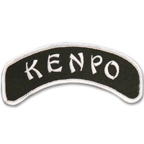 Kenpo Karate Sew On Patch for Uniforms Bags Hats Jackets Backpacks Clothing - Sedroc Sports