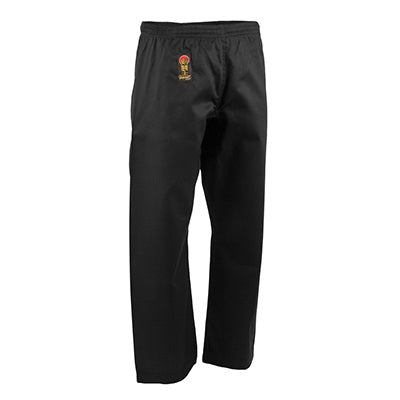 ProForce Gladiator 6 oz. Karate Pants - Black