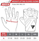 RDX S12 Weightlifting Gym Gloves - Tan - Sedroc Sports