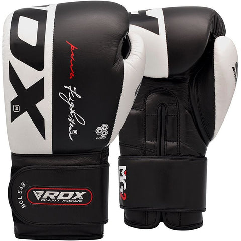 RDX S4 Leather Sparring Boxing Gloves - Sedroc Sports