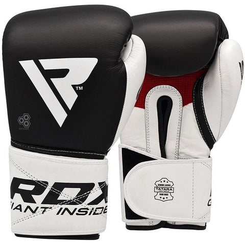 RDX S5 Leather Boxing Sparring Gloves - Sedroc Sports