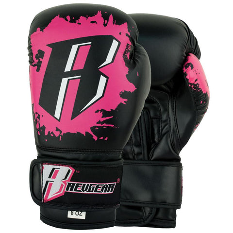 Revgear Youth Deluxe Boxing Gloves - Pink - Sedroc Sports