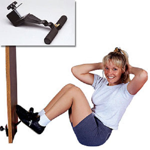 Sit Up Bar Door Attachment for Home Fitness Ab Training Workout Doorway Exercise - Sedroc Sports