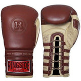 Ringside Heritage Sparring Gloves Lace Up Boxing Kickboxing Muay Thai Training - Sedroc Sports