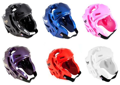 ProForce Thunder Double Layered Headguard Karate Sparring Headgear Kids Adult - Sedroc Sports