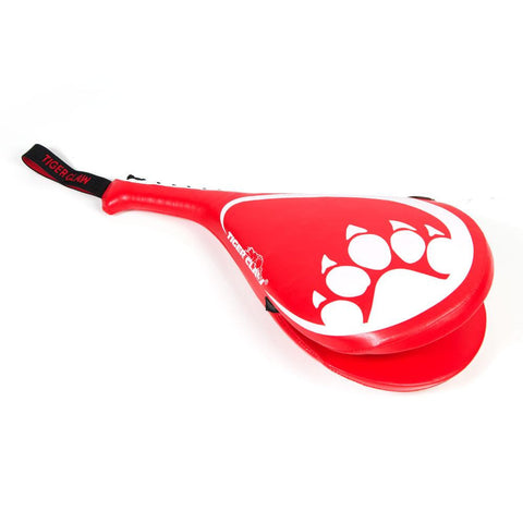 Tiger Claw Clapper Kicking Target - Red - Sedroc Sports