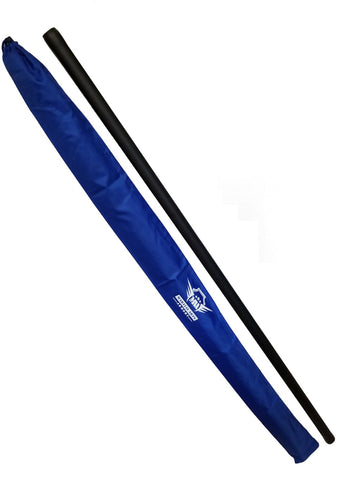 Foam Padded Training Bo Staff with Free Armory Carry Bag Case - Blue - Sedroc Sports