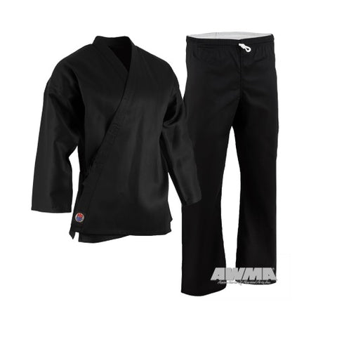 ProForce 6 oz. Karate Uniform Gi - Black - Sedroc Sports