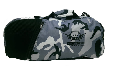 Martial Arts Armory Gym Bag Backpack - Camo - Sedroc Sports