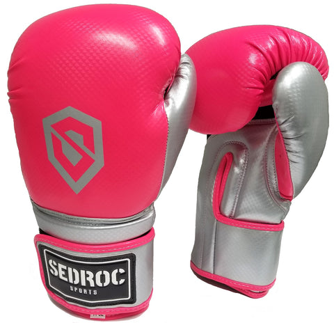 Sedroc Boxing Vortex Women's Fitness Cardio Training Gloves - Pink - Sedroc Sports