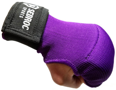 Sedroc Boxing GEL Hand Wrap Inner Gloves Fist Wraps - Purple