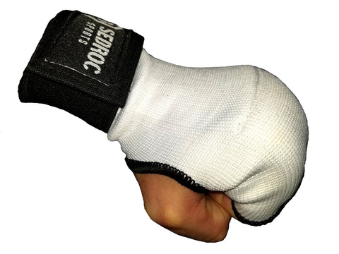 Sedroc Boxing GEL Hand Wrap Inner Gloves Fist Wraps - White - Sedroc Sports