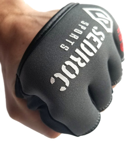 Sedroc Sports Boxing Gel Fist Guards Slip on Knuckle Shields - Sedroc Sports