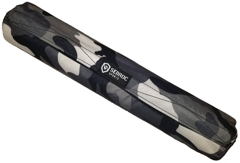 Sedroc Sports GEL Barbell Pad - Gray Camo - Sedroc Sports