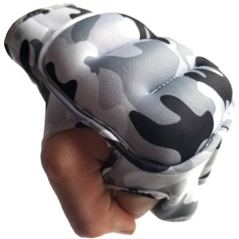 Sedroc Sports Weighted Gloves - Gray Camo - Sedroc Sports
