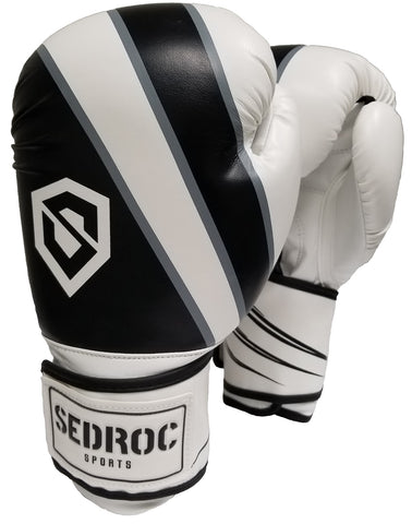 Sedroc Sports Achieve Womens Boxing Gloves - Black - Sedroc Sports