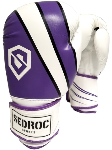 Sedroc Sports Achieve Womens Boxing Gloves - Purple - Sedroc Sports
