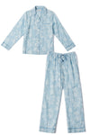 Kama Sutra Printed Pajamas in Sky Blue