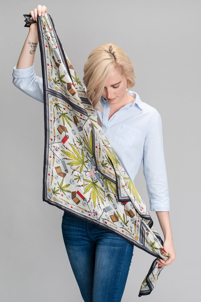 Valley of the Dolls Silk Scarf