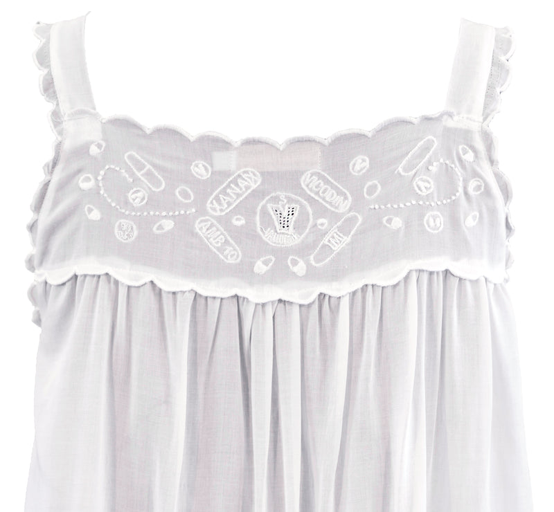 Sweet Dreams Embroidered Babydoll