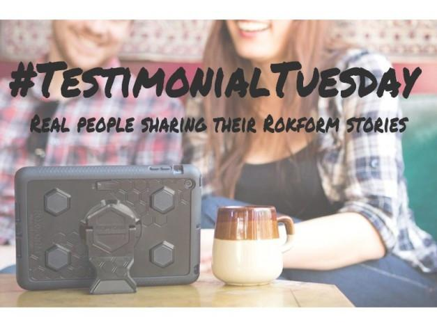 #TestimonialTuesday – Real People Sharing Their Rokform Stories