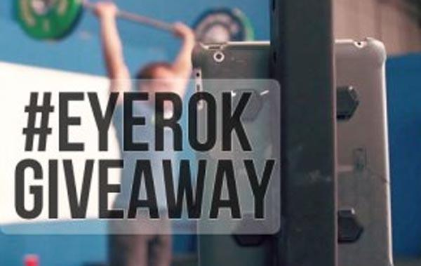 Official #EYEROK Giveaway [CONTEST CLOSED]