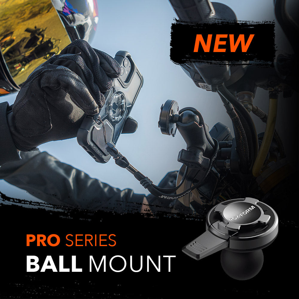 New Product Alert: Universal Adapter Ball Mount [IN STOCK AND SHIPPING NOW]