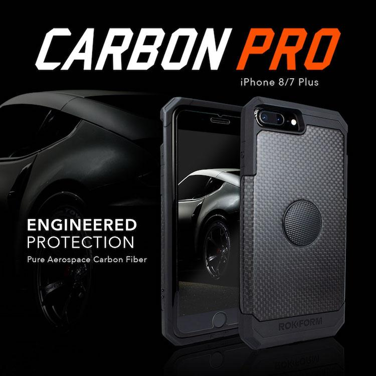 Introducing the Carbon Pro case: Where style meets sturdy