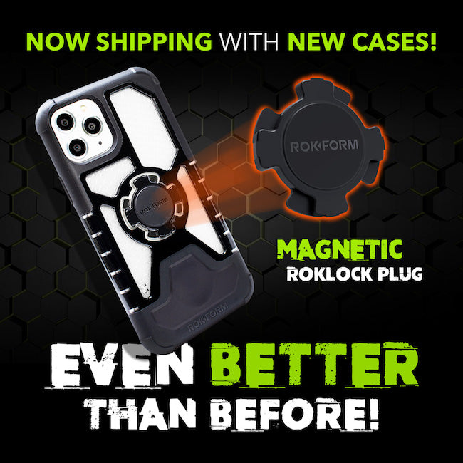 Now Shipping Magnetic RokLock Plugs with New Rokform Cases