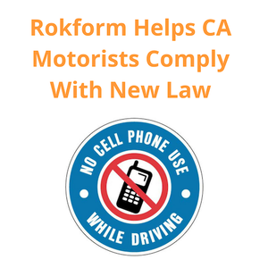 Rokform Helps Drivers Comply With New Traffic-Related Cellphone Laws