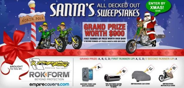 Santa's All Decked Out Sweepstakes [CONTEST CLOSED]
