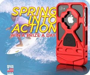 Spring Into Action Sweepstakes [CONTEST CLOSED]